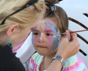 Edmonton face Painting Services