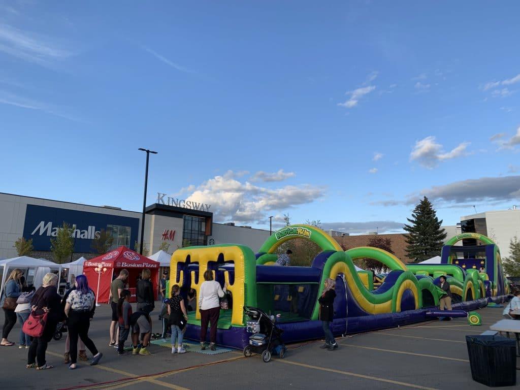 Kinsway Mall Event