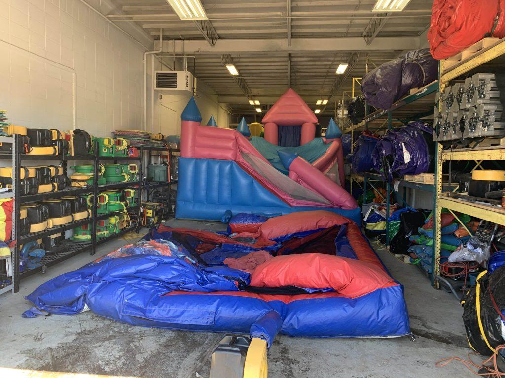 Clean Bouncy Castles Edmonton